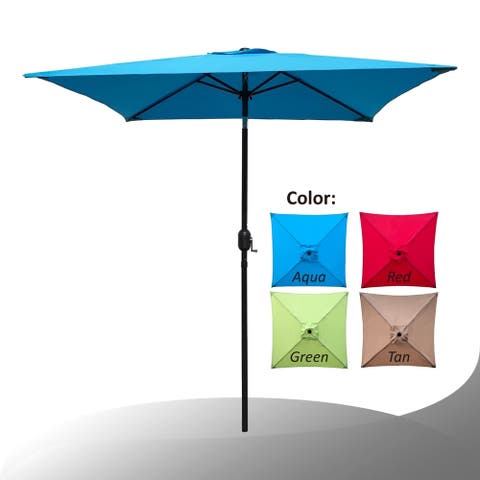Maypex 6.5 Feet Square Market Umbrella