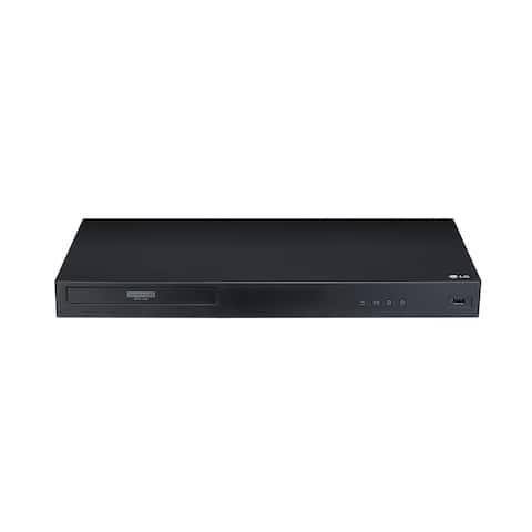 """LG UBK80 - 4K Ultra-HD Blu-ray Disc Player - black - 16.9"""" x 1.8"""" x 8.1"""""""