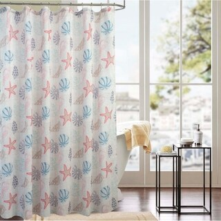 Classic Ocean 70 x 72 in. Printed Shower Curtain