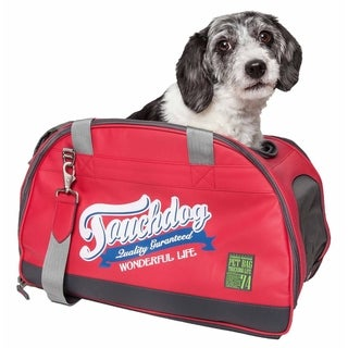 Touchdog ® Original Wick-Guard Water Resistant Fashion Pet Carrier