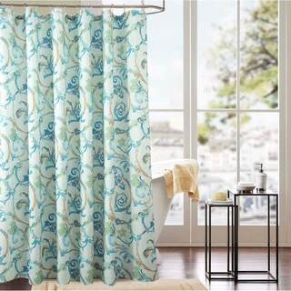 Classic Tile 70 x 72 in. Printed Shower Curtain