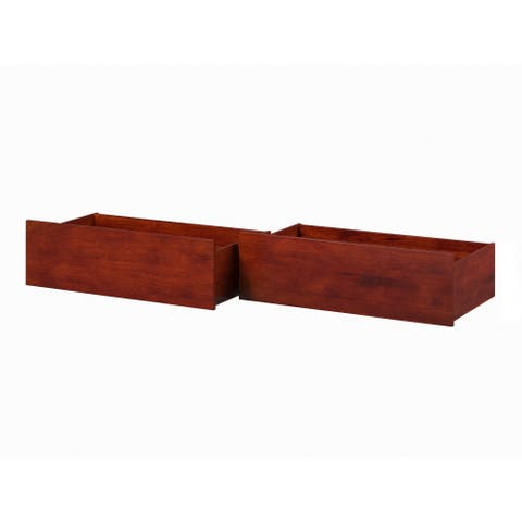 Urban Bed Drawers Queen-King Walnut