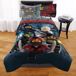 "Lego Ninjago Movie ""Lego Warriors"" Bed in a Bag"