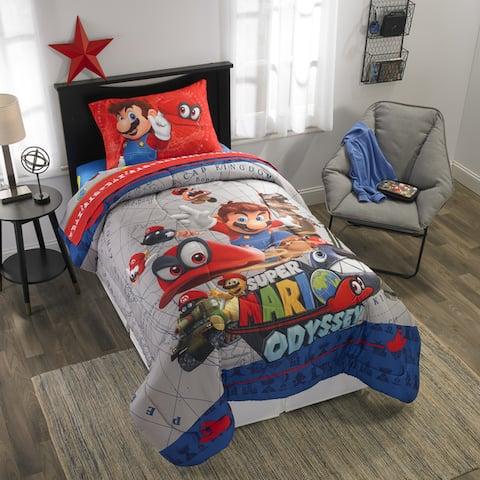 """Nintendo's Super Mario """"Caps Off"""" Bed in a Bag"""