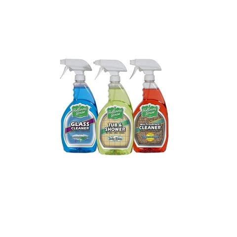 Holloway House Home , Bath, and Glass Cleaner 3-Set Kit
