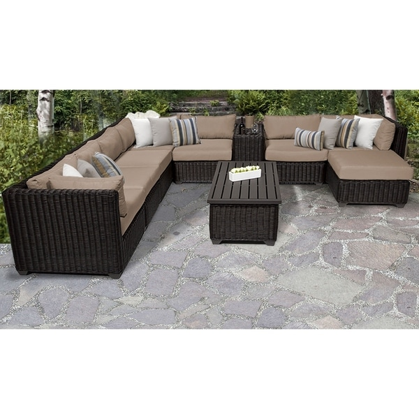 Tk Clics Venice 10 Piece Outdoor Wicker Patio Furniture Set Free Shipping Today 24017789