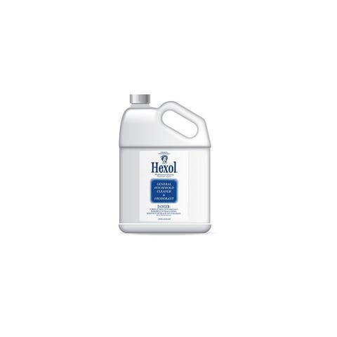 Hexol Concentrated General Household All-Purpose Cleaner and Deodorant, 128 oz. - N/A