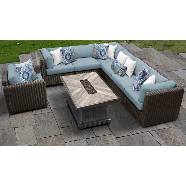 Venice 8 Piece Outdoor Wicker Patio Furniture Set 08i Free Shipping Today 24017807