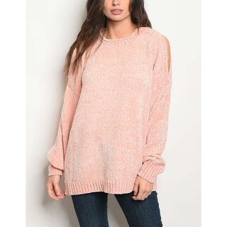 JED Women's Chenille Pull-Over Tunic Sweater