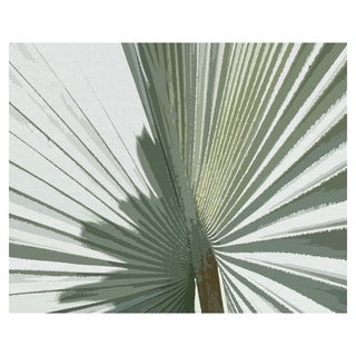 Palms Frond II Crop by Noah Bay Wrapped Canvas Art Print - Multi-color