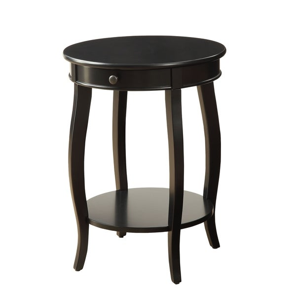 Modern Designs Alba Wooden Accent Side Table