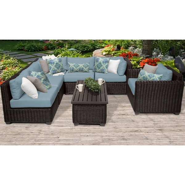 Shop TK Classics Venice 7 Piece Outdoor Wicker Patio Furniture Set - Free Shipping Today - Overstock.com - 24018416  sc 1 st  Overstock.com & Shop TK Classics Venice 7 Piece Outdoor Wicker Patio Furniture Set ...