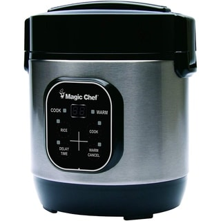 Link to Magic Chef MCSRC03ST 3 Cup Rice Cooker Similar Items in Kitchen Appliances