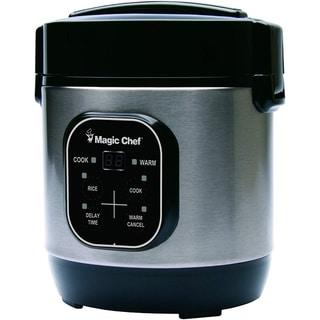 Magic Chef MCSRC03ST 3 Cup Rice Cooker