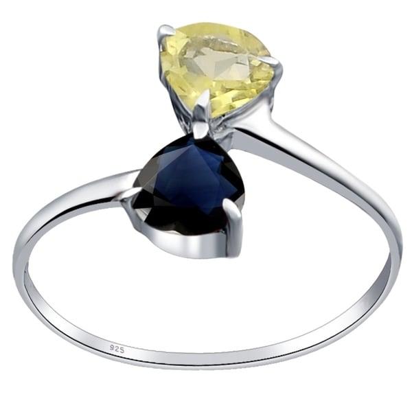 Shop 1 Carat Lemon Quartz Sapphire 925 Sterling Silver Wedding