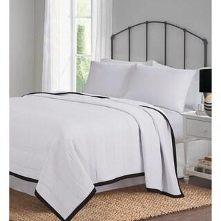Vintage Prewashed Superior Smooth Cozy Coverlet Bed Spread