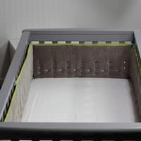 Open Air Vented Crib Bumper or Liner, Counting 123