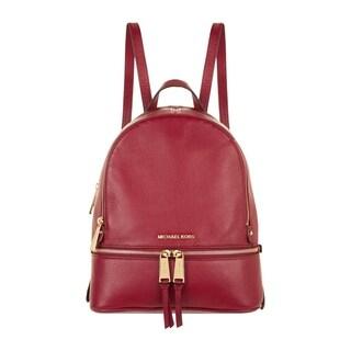 MICHAEL Michael Kors Rhea Zip Backpack Maroon