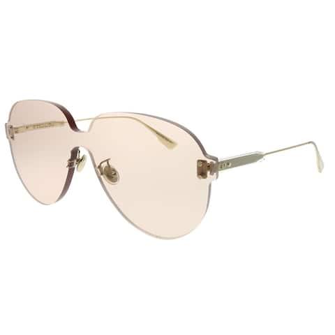 372edef8d0622 Dior Aviator Dior Color Quake 3 FWM VC Unisex Nude Frame Light Brown Lens  Sunglasses