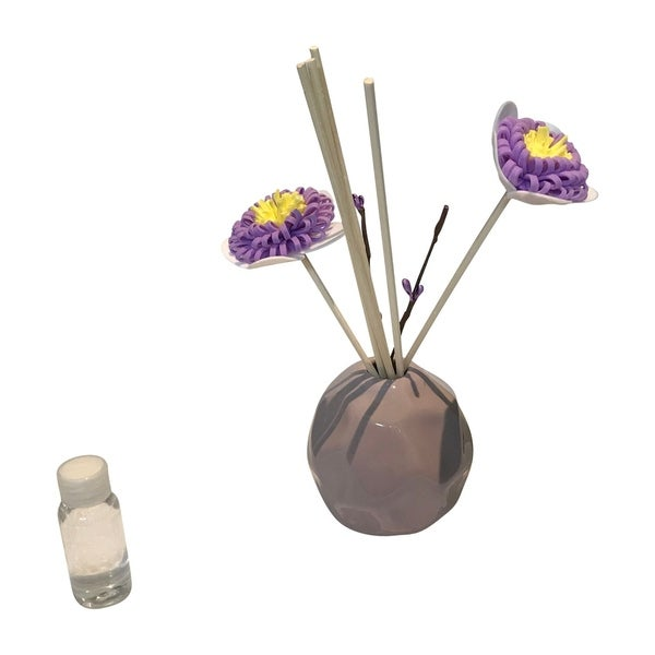 Glass Vase Fragrant Aroma Bohemian/czech