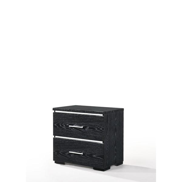 ACME Laleh Nightstand in High Gloss Black