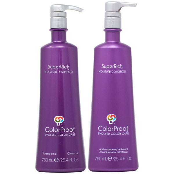 ColorProof SuperRich 25.4-ounce Shampoo & Conditioner Duo. Opens flyout.