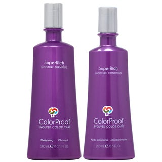 ColorProof SuperRich 10.1-ounce Shampoo & 8.5-ounce Conditioner Duo