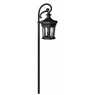 Hinkley Landscape Raley 18 Watt Path Light - Black