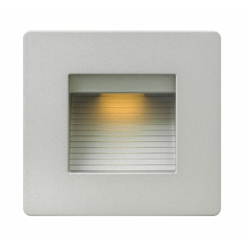Hinkley Landscape Luna LED 4 Watt 120 Volt Deck Light - Silver