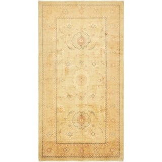 Hand Knotted Meshkabad Antique Wool Runner Rug - 6' 8 x 12' 8