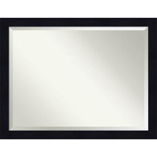 Bathroom Mirror, Shiplap Navy