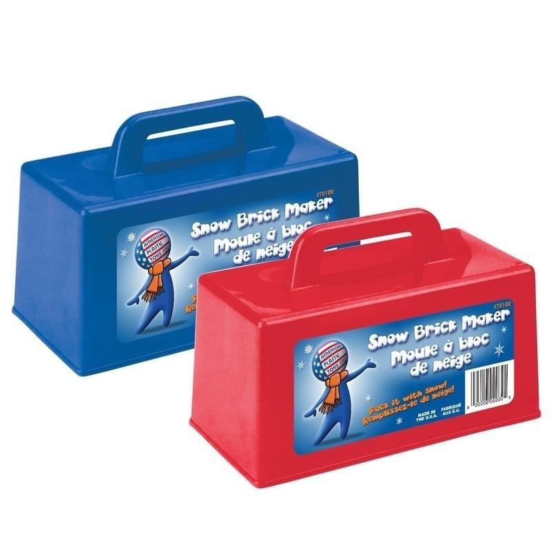 American Plastic Toys Snow Brick Maker (24 Pack)