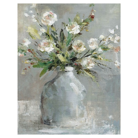 Masterpiece Art Gallery Country Bouquet I by Carol Robinson Canvas Art Print - Multi-color