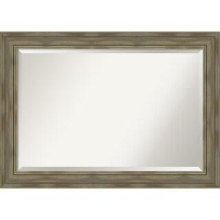 Bathroom Mirror, Alexandria Greywash
