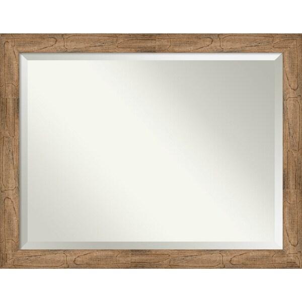 Bathroom Mirror, Owl Brown