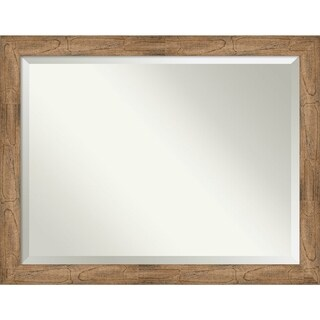 Bathroom Mirror, Owl Brown