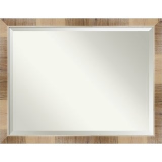 Bathroom Mirror, Natural White Wash