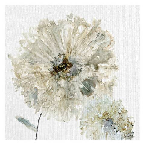 Masterpiece Art Gallery Ivory Spring II Flower by Carol Robinson Canvas Art Print - Multi-color