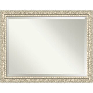Bathroom Mirror, Fair Baroque Cream