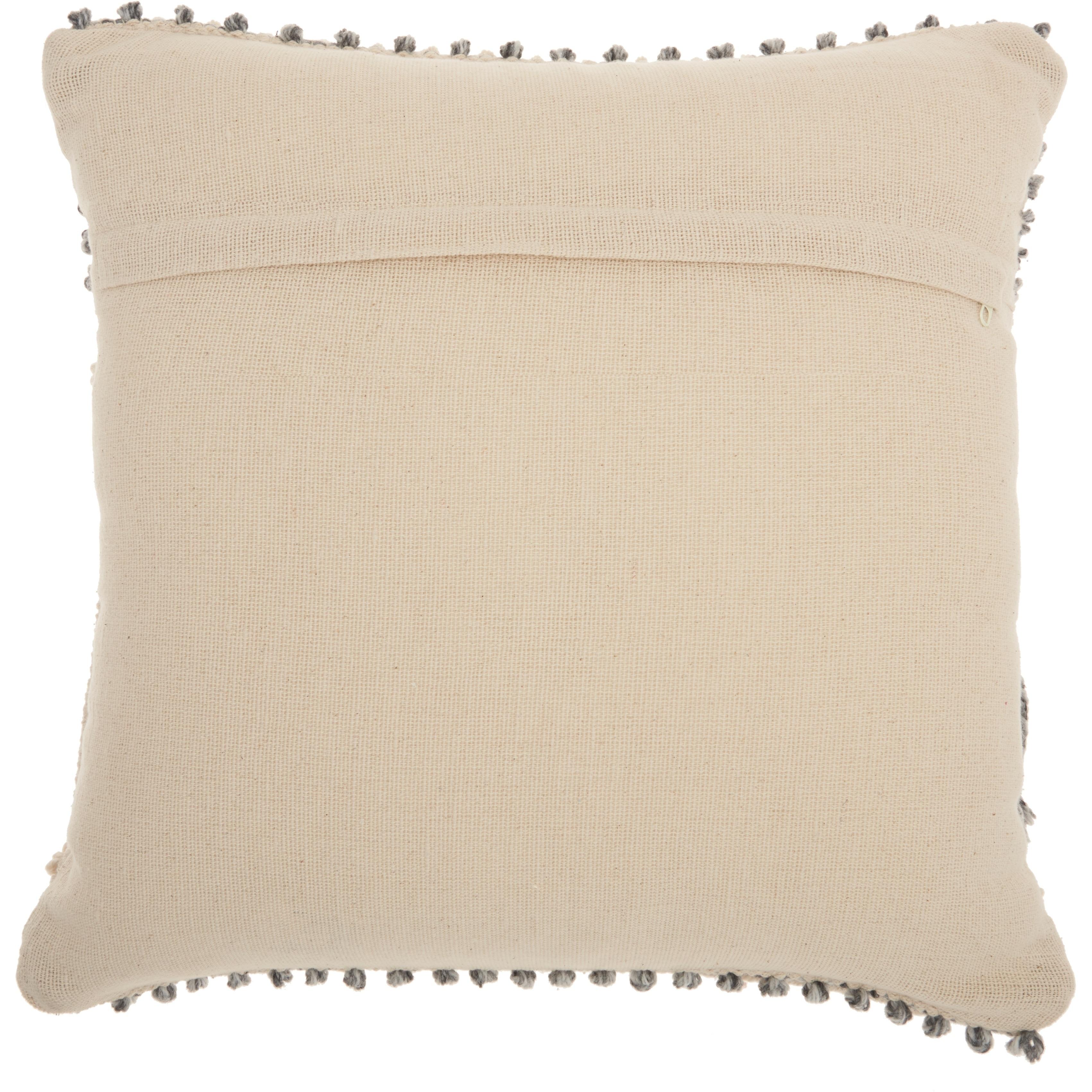 Mina Victory Handmade Ocean Blue Bohemian Throw Pillow 20 Inch X 20 Inch On Sale Overstock 24032938