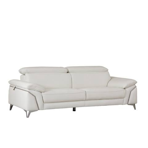 Buy White, Leather Sofas & Couches Online at Overstock | Our Best ...