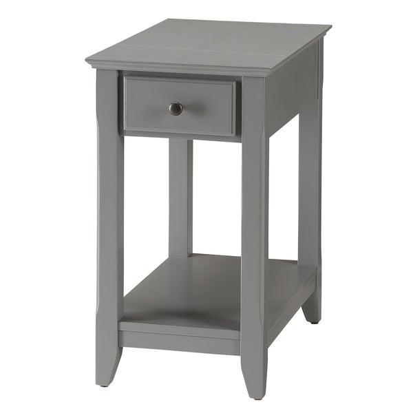 Modern Designs Bega Wooden Accent Side Table