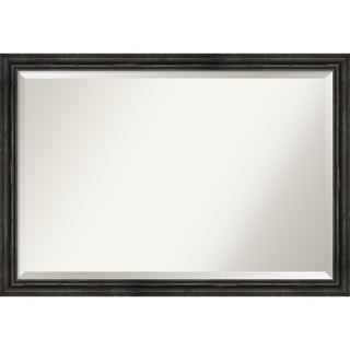 Link to Wall Mirror, Rustic Pine Narrow Black Similar Items in Mirrors