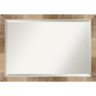Wall Mirror, Natural White Wash