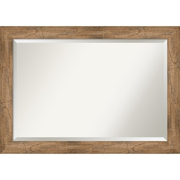 Wall Mirror, Owl Brown
