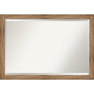 Wall Mirror, Owl Brown Narrow
