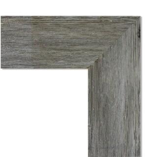 Wall Mirror, Fencepost Grey