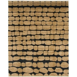 Hand Knotted Modern Ziegler Wool Area Rug - 8' 4 x 10' 3