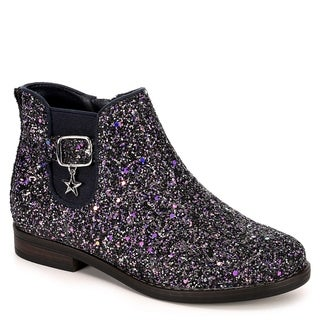Cupcake Couture Girls Dazzle Chelsea Ankle Boots, Navy Multi