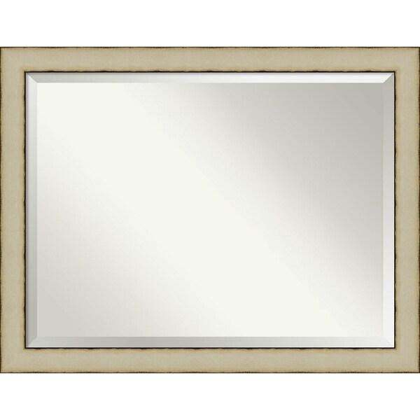 Bathroom Mirror, Rusted Cream